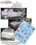 Decals 1/43 Škoda Favorit - Rallye Portugal 1991/ Horácio Franco