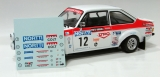 "Decals 1/18 ""Nortti"" Ford Escort - 1000 Lakes 1976/ Airikkala (for SunStar)"