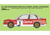Decal 1/43 Reji Model - BMW M3 - 1988 Manx Rally winner - Snijers / Colebunders