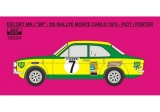 "Decal 1/18 Reji Model - Ford Escort Mk.I - Rallye Monte Carlo 1972 ""BP"" LIMITED"