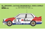 Decal 1/43 Reji Model - BMW M3 - 1990 Barum rallye - J.Bosch / K.Gormley