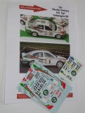 Decals 1/43 Škoda Octavia Kit Car - San Remo 97, Catalunya 98