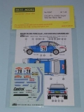 Decal 1/43 Reji Model - Ford Escort Mk II - 11th Rallye San Remo 1981/ Presotto