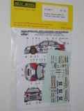 Decal 1/43 Reji Model - Subaru Impreza WRC - Tour de Corse 2001/ A. Mortl