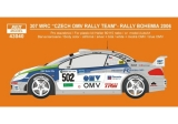 Decal 1/43 Reji Model - Peugeot 307 WRC - Rally Bohemia 2006/ Š. Vojtěch