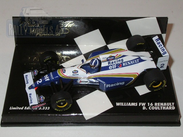 Williams FW 16/ D. Coulthard