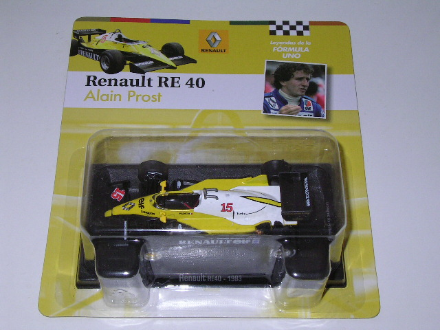 Renault RE40 - 1983 Alain Prost/ F1