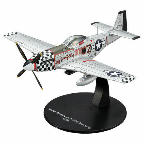 North American P−51D Mustang - WWII DeAgostini 1/72
