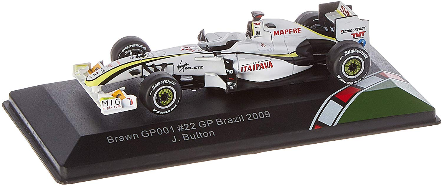 Brawn GP001 - Brazil GP 2009/ J. Button